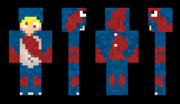 Petra Minecraft Skin 64x64 Steve